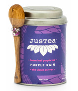 JusTea Loose Leaf Purple Tea Purple Rain