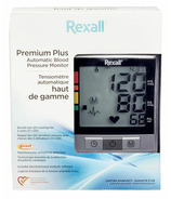 Rexall Premium Plus Automatic Blood Pressure Monitor