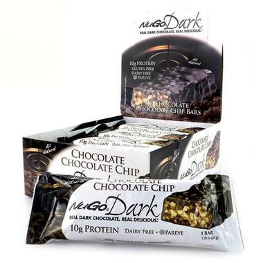 NuGo Dark Chocolate Chip Bar Case