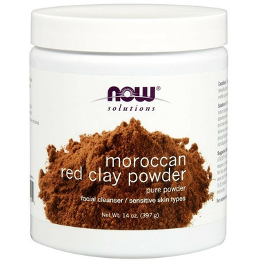 NOW Foods Moroccan Red Clay Powder