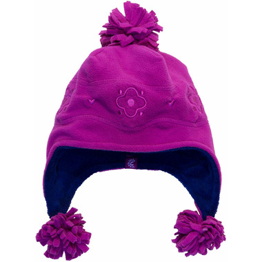 Calikids Microfleece Solid Hat Fuschia
