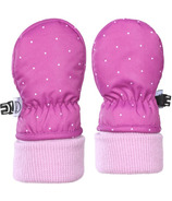 Kombi The Cutesy Infant Mitt Purple Wine Micro Dot