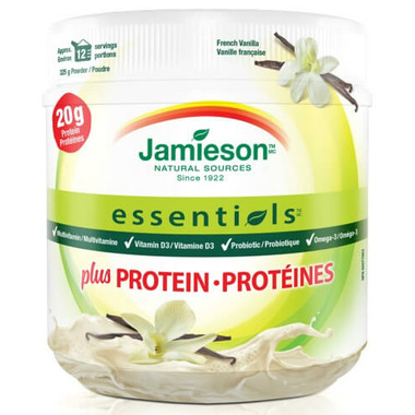 Jamieson Essentials Protein Powder Vanilla