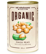 Eat Wholesome Organic Chick Peas (Garbanzo Beans)