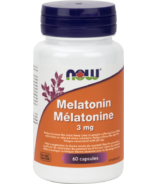 NOW Foods Melatonin Capsules