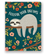 Studio Oh! Deconstructed Journal Follow Your Dreams Sloth