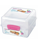 Sistema Lunch Cube To Go Pink
