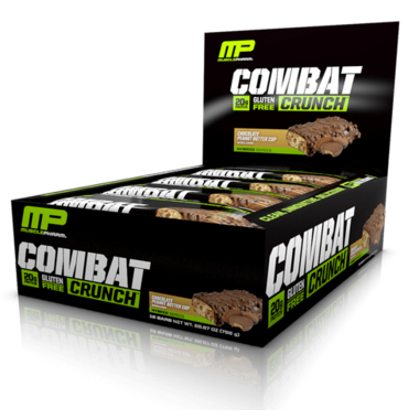 Musclepharm Combat Crunch Protein Bar Case Chocolate Peanut Butter Cup