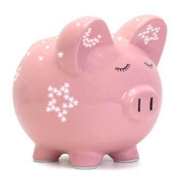 Child To Cherish Pink Night Light Pig