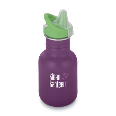 Klean Kanteen Kid Classic with Kid Sippy Cap Winter Plum