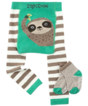 ZOOCCHINI Legging & Sock Set Silas the Sloth