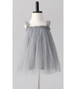 Bluish Baby Avery Tutu Dress Grey