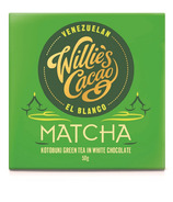 Willies Cacao Matcha White Chocolate Bar