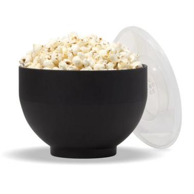 W&P The Popper Silicone Popcorn Maker Charcoal