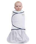 Halo 100% Cotton SleepSack Swaddle Navy Blue Pin Dot