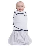 Halo 100% Cotton SleepSack Swaddle Navy Blue Pin Dot