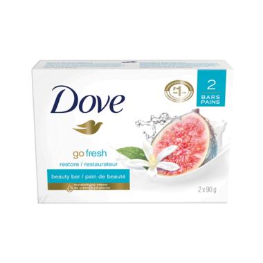 Dove Go Fresh Restore Beauty Bar Blue Fig & Orange Blossom