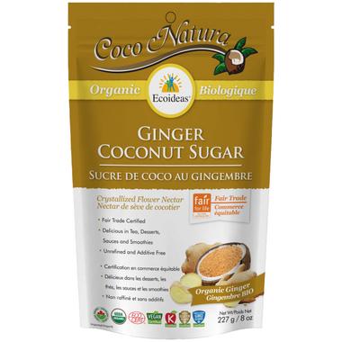 Ecoideas Organic Ginger Coconut Sugar