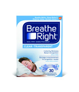 Breathe Right Nasal Strips Clear Large Size