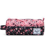 Herschel Supply Settlement Case Multi Ditsy Floral Black & Flamingo Pink