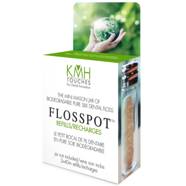 KMH Touches Pure Silk Dental Floss Refills
