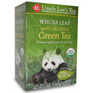 Uncle Lee\'s Whole Leaf 100% Organic Green Tea
