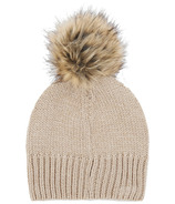 Little Blue House Heritage Adult Pom Pom Winter Hat Black Bear