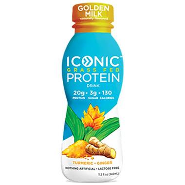 Iconic Grass Fed Protein Drink Golden Milk