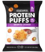 Shrewd Food Protein Puffs Sriracha