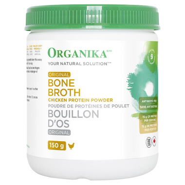 Organika Chicken Broth Protein Powder Original