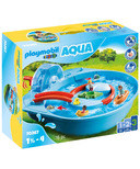 Playmobil 1.2.3 Aqua Splish Splash Water Park