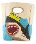 Fluf King Shark Organic Lunch Bag