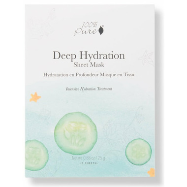 100% Pure Sheet Mask Deep Hydration Box