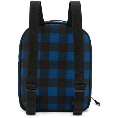 PackIt Upright Lunch Backpack Navy Buffalo