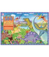 eeboo Age of the Dinosaur Kid's Puzzle
