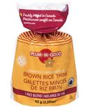 Plum.M.Good Organic Brown Rice Thins 5 Rice Blend