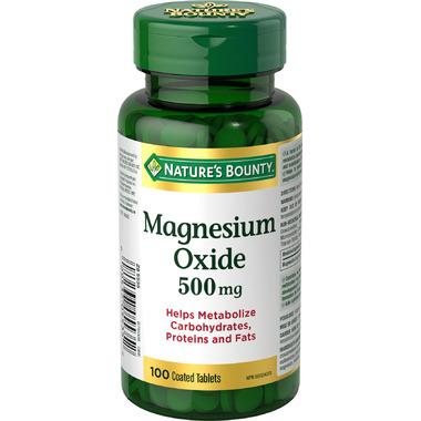 Nature\'s Bounty Magnesium Oxide