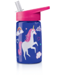 Crocodile Creek Rainbow Unicorn Tritan Drinking Bottle