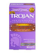 Trojan Her Pleasure Naked Sensations Lubricated Latex Condoms
