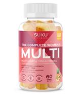 SUKU Vitamins The Complete Women's Multi Plus CoQ10 & Fibre