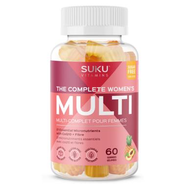 SUKU Vitamins The Complete Women\'s Multi Plus CoQ10 & Fibre