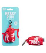 Wild & Woofy Messy Pup Poop Bags Holder