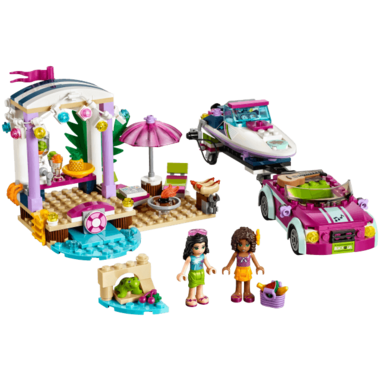 LEGO Friends Andrea\'s Speedboat Transporter