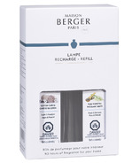 Maison Berger Duo Refill Pack Cotton Caress + Pure White Tea