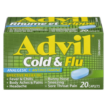 Advil Cold & Flu Caplets