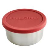 Keep Leaf Stainless Steel Food Container Medium Pink