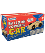 Schylling Classic Wooden Toy Balloon Powered Car