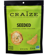 Craize Seeded Toasted Corn Crackers