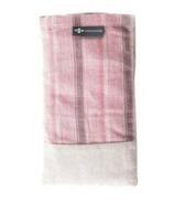 Halfmoon Linen Eye Pillow Vintage Rose Sand Lavender