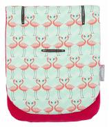 CuddleCo. Comfi-Cush Memory Foam Stroller Liner Flamingo